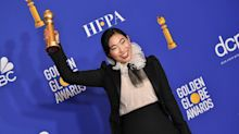 Awkwafina Becomes First Asian-American Actress Ever To Win Golden Globe For Best Comedy Film