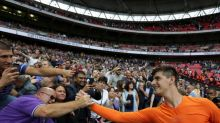Chelsea goalkeeper Thibaut Courtois pokes fun at Tottenham over Wembley atmosphere