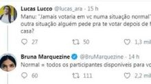 Bruna Marquezine explica início de amizade com Manu Gavassi, do 'BBB20'