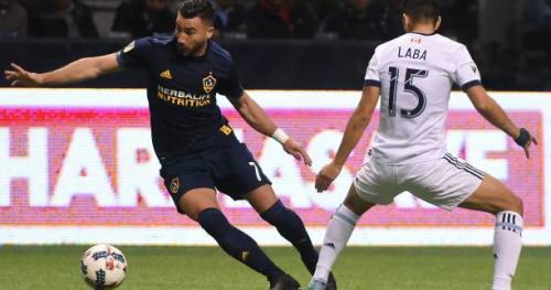 Foot - MLS - MLS : Romain Alessandrini inscrit un doublé avec LA Galaxy mais perd le match