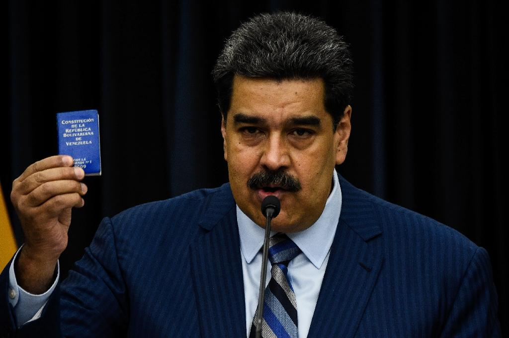 Venezuela's complaint comes days before President Nicolas Maduro is to be sworn in for a new term after a controversial re-election