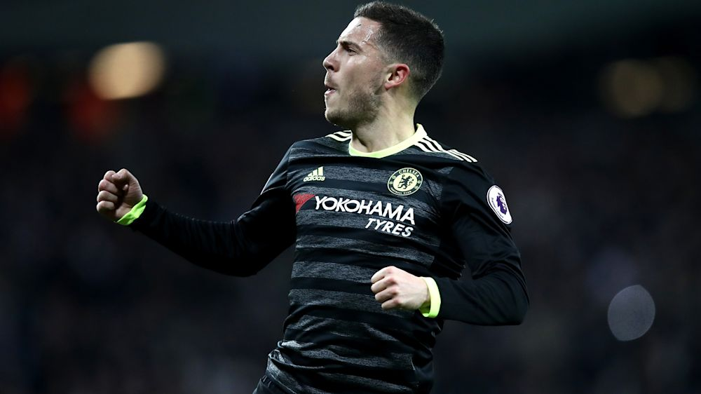 Conte urges Hazard to forget about Real Madrid