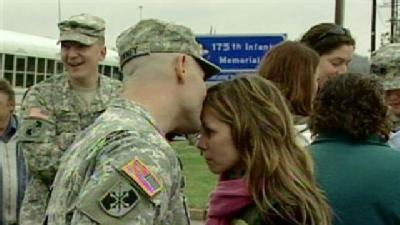 Md. National Guard Members Deploy To Egypt