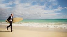Não fale em crise, fale em surfe