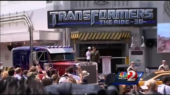 Transformers ride officially opens at Universal Orlando