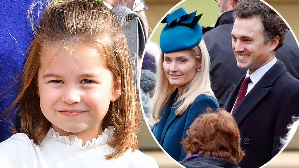 Princess Charlotte's schoolteacher marries her godfather