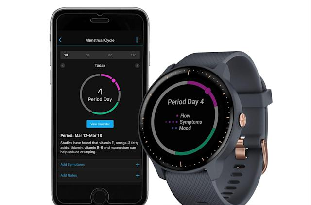 Garmin's fitness watches are getting period-tracking via an update