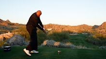 Charles Barkley looks like a completely different player after fixing his golf swing