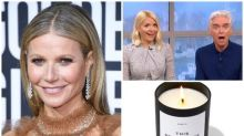 Holly Willoughby shocks viewers by saying she wants Gwyneth Paltrow's vagina candle