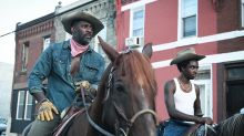 Idris Elba fought through a horse allergy to explore North Philadelphia's urban cowboy community in 'Concrete Cowboy'