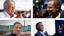 Momentos de campaña de los candidatos presidenciales #Elecciones2018