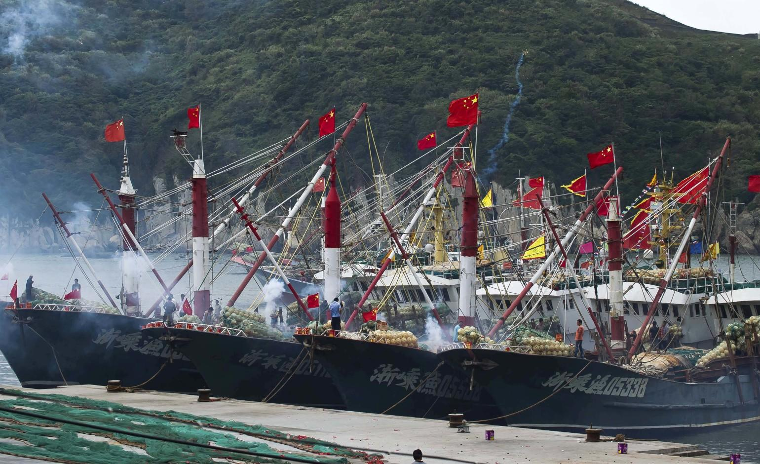 China's maritime fleet uses predatory fishing practices to feast on smaller countries