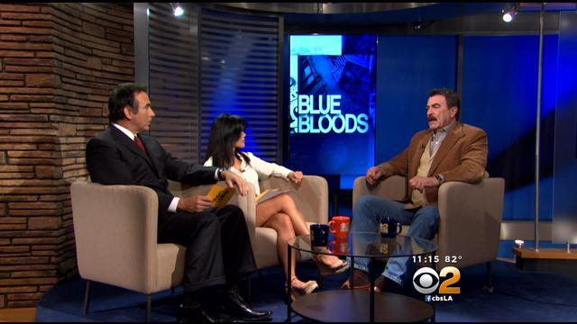 'Blue Bloods' Star Tom Selleck CBS2 At 11AM