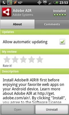 Adobe AIR runtime for Android lands, apps already starting to follow