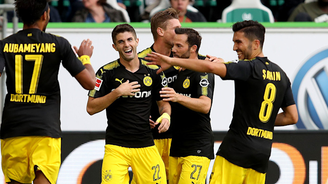 Pulisic has Dortmund off and running in Bundesliga season