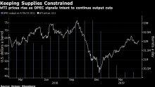 Oil Jumps as OPEC Signals Continued Cuts and U.S. Threatens Iran