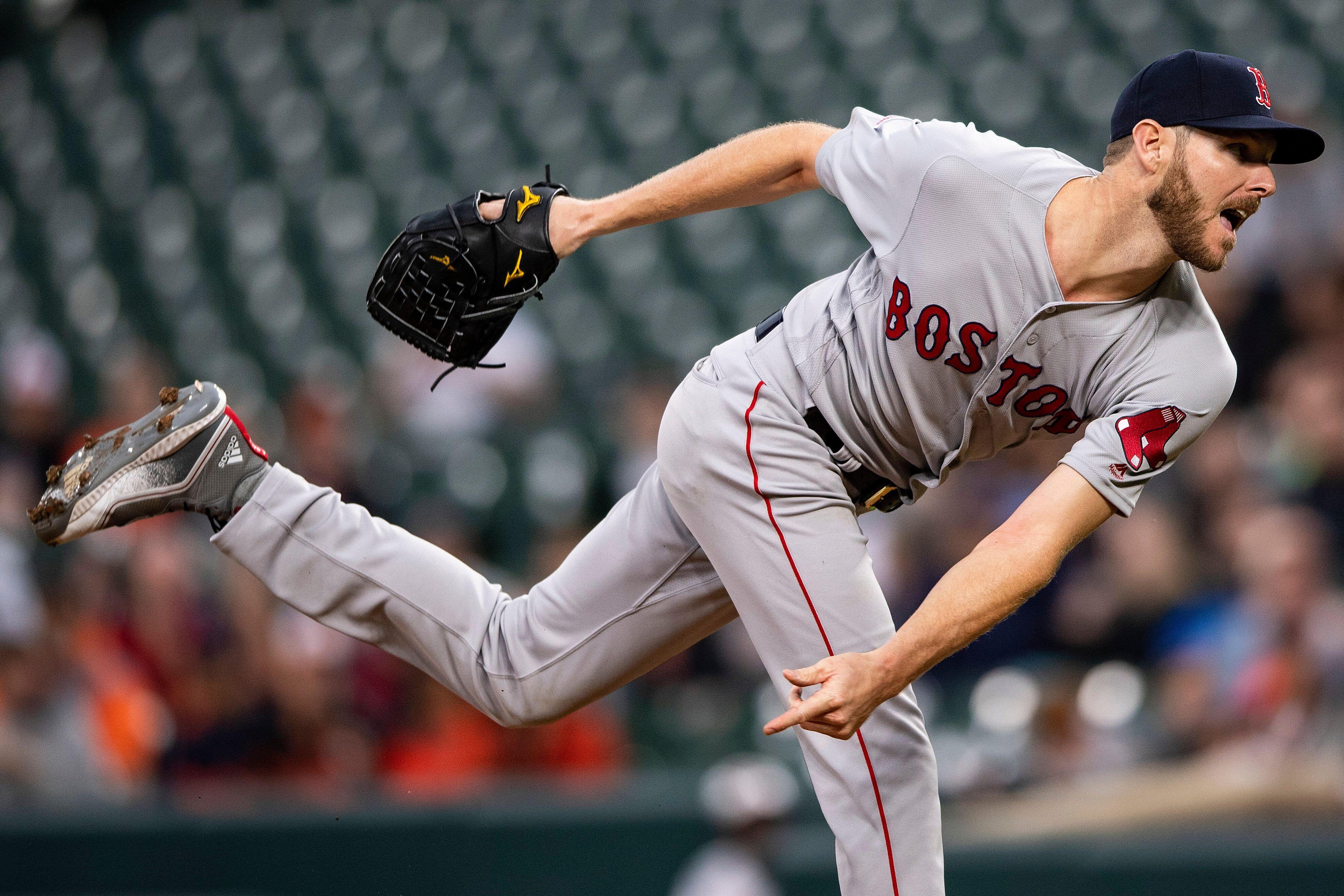 a4bc7ca2b4f Chris Sale posts immaculate inning for Red Sox