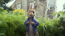 'Peter Rabbit' allergy shaming prompts a boycott — and an apology