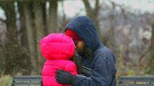 La reflexión desgarradora de una niña de seis años que tuvo que dejar su hogar