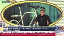 """Angell, le """"smartbike"""" de Marc Simoncini, se veut l'iPhone du vélo électrique"""