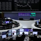 European shares trade sideways, focus on M&A