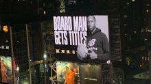 Epic Kawhi Leonard billboard unveiled moments after Raptors win NBA title