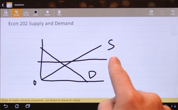 SuperNote lets you take some pretty super notes on your ASUS tablet (video)
