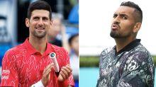Nick Kyrgios blasts Novak Djokovic over 'scary' new virus claim