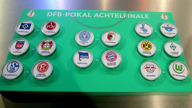 Dfb-Pokal Spiele