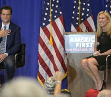 Gaetz, Greene take mantle of Trump's populism at rally