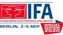 IFA Berlin: Erste globale Post-COVID-Verbrauchermesse öffnet ihre Pforten in Berlin