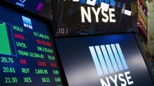 Markets Right Now: Banks weigh on large-stock indexes