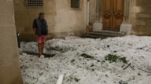 Orages, grêle et vents forts: d'importants dégâts constatés dans le Sud-est