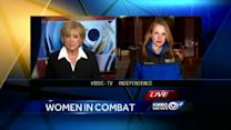 Female veterans celebrate new combat roles for women