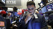 Wall Street baja y acumula dos semanas de retrocesos