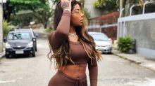 Elegante, Ludmilla esbanja autoestima nas redes sociais