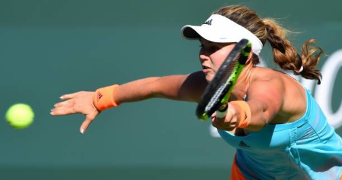 Tennis - WTA - Miami - Garbine Muguruza abandonne en huitièmes de finale à Miami