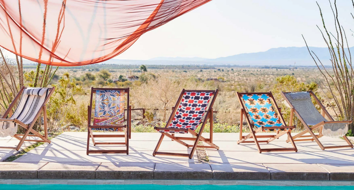 Today's the last day to save 30% on patio furniture with Anthropologie's outdoor living sale