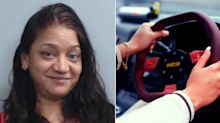 Mum's bizarre way of teaching son drink driving lesson