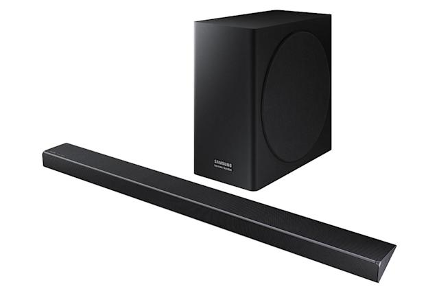 Samsung's new soundbars detect what's on screen to optimize output