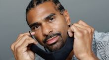 Guarding the face: ex-boxer Haye launches mask to fight COVID-19