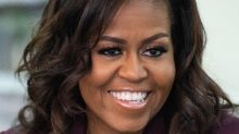 Michelle Obama Knitted Tops For Malia and Sasha During Lockdown