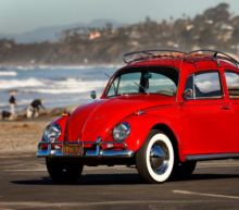 Volkswagen restores cancer worker's 350,000-mile Beetle