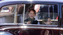 The Reason Why This Royal Wedding Page Boy Grinned Right Before Meghan Markle Walked Down the Aisle