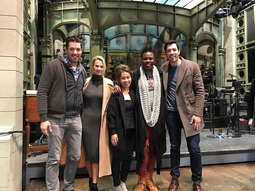 Snl S Leslie Jones Is Desperate To Have Property Brothers
