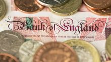 British pound falls initially against Japanese yen on Tuesday but bounces