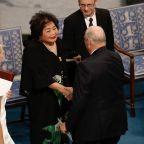 Nobel-winning Hiroshima survivor laments nuclear 'insanity'