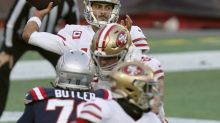 San Francisco 49ers dominate in Jimmy Garoppolo's return to New England