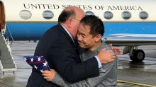 Trump thanks Iran as American freed in prisoner swap