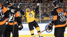Matt Cullen makes the most of his first NHL outdoor game experience